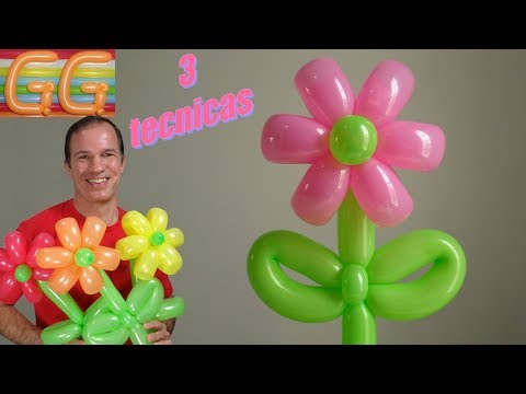 Globoflexia video watch hd videos online without registration - Hacer flores con globos ...