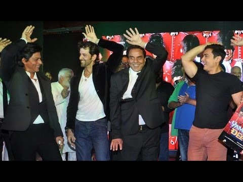 dharmendra - The music launch event of the upcoming Deols' venture, 'Yamla Pagla Deewana 2', was held at a suburban hotel in Mumbai, last night. Dharmendra, Sunny Deol, B...