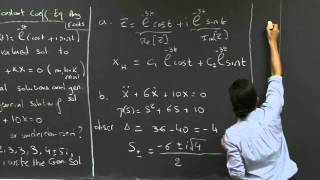 Homogeneous Constant Coefficient Equations: Any Roots | MIT 18.03SC Differential Equations