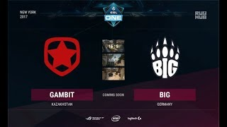 Gambit vs BIG, game 3