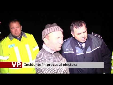 Incidente în procesul electoral