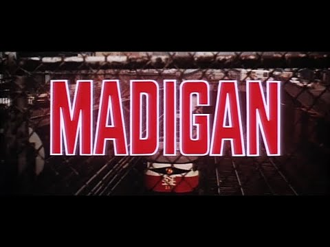 """Madigan"" (1968) Trailer"
