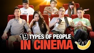 Video 19 Types Of People In Cinema MP3, 3GP, MP4, WEBM, AVI, FLV Juli 2018