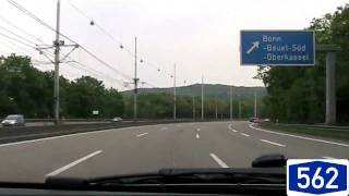 Olpe Germany  city pictures gallery : Driving from Bonn to Olpe, Germany [HD720p]