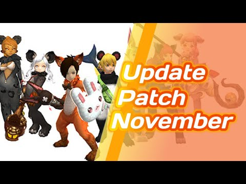 Update Patch November 2020 - Dragon Nest SEA