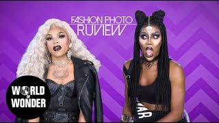 FASHION PHOTO RUVIEW: Vanessa Vanjie and Nina Bo'nina Brown!