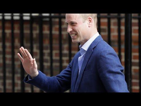 Prinz William und seine Frau Kate bringen drittes K ...