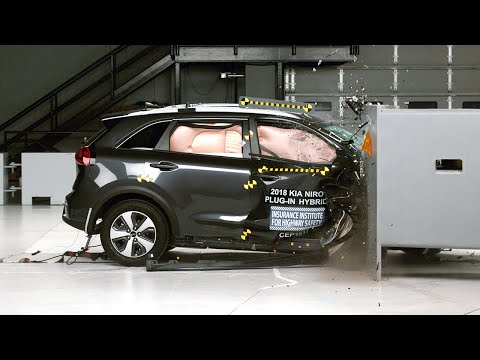 Kia Niro 2018 obtiene el Top Safety Pick + del IIHS