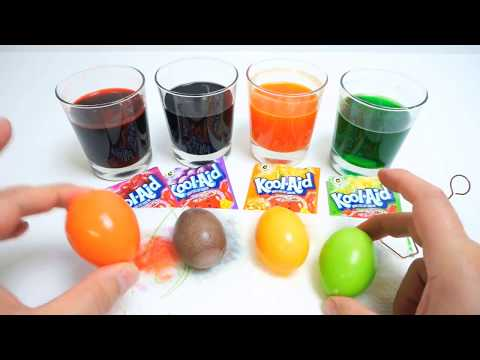 Video Coloring Easter Eggs With Kool Aid - Bubble Gum Rolls - 5 Flavors Mix - M&M's Collection Candy download in MP3, 3GP, MP4, WEBM, AVI, FLV January 2017