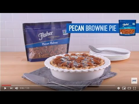 Chef Alex's Pecan Brownie Pie