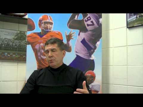 Question of the Day with Head Football Coach Mike Emendorfer - Day 1
