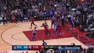 Philadelphia 76ers vs Toronto Raptors : December 5, 2018