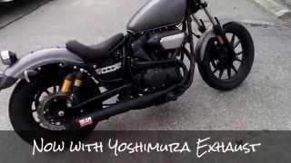 8. Yoshimura Exhaust clip -  2014 Yamaha Bolt R-Spec