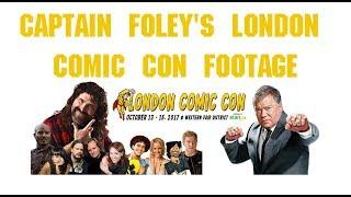 Video Captain Foley's London Comic Con Footage MP3, 3GP, MP4, WEBM, AVI, FLV Oktober 2017