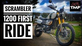 2. 2019 Triumph Scrambler 1200 XE Review