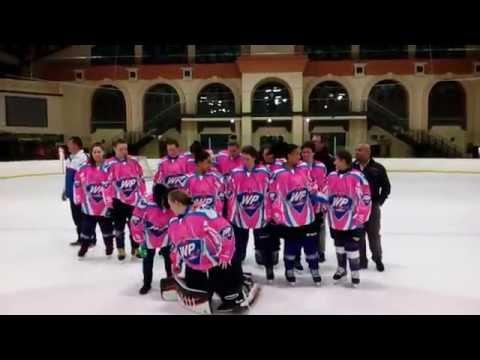 WP Ladies Ice Hockey Jersey Handover