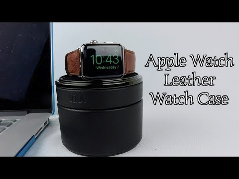 Sena Apple Watch Leather Watch Case Review