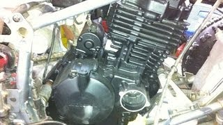2. Honda TRX 400EX Engine Reassembly