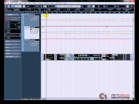 Vídeo Aula Nuendo 4 - Curso Nuendo 4 - Gravando Áudio