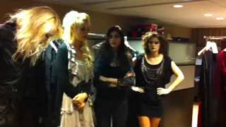 Europeans Worldwide - Backstage Halloween Model Preparation
