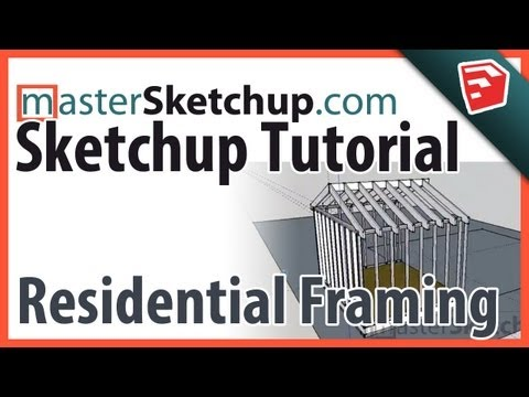 sketchup - http://www.MasterSketchup.com - I took a little different approach with this video. I was about to draw a small addition for a friend of mine in Sketchup, an...