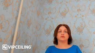 Матовый потолок 21 м<sup>2</sup>