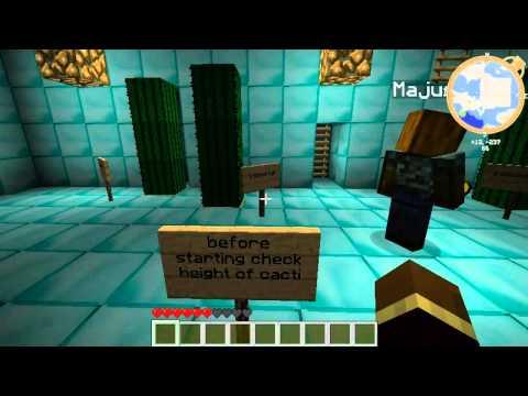 Minecraft Puzzle Map Adventure Husiek & Majusek