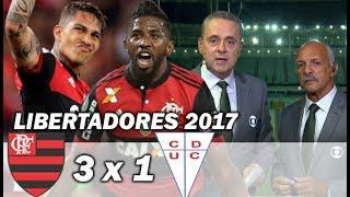 Flamengo 3 x 1 Universidad Católica * Pós Jogo