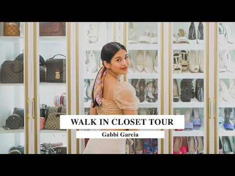 WALK IN CLOSET TOUR! ♡   Gabbi Garcia