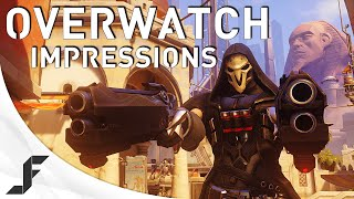 OVERWATCH GAMEPLAY - A New FPS From Blizzard?!