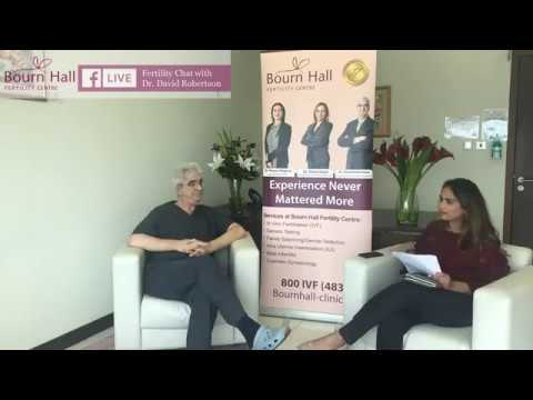 Fertility Chat with Dr David Robertson on Facebook Live