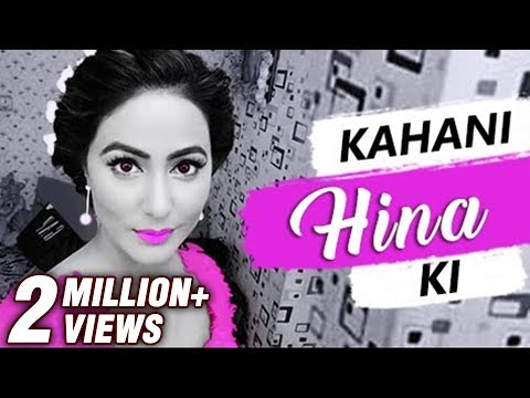 Kahani HINA Ki | Life story of HINA KHAN | Biography | TellyMasala (видео)