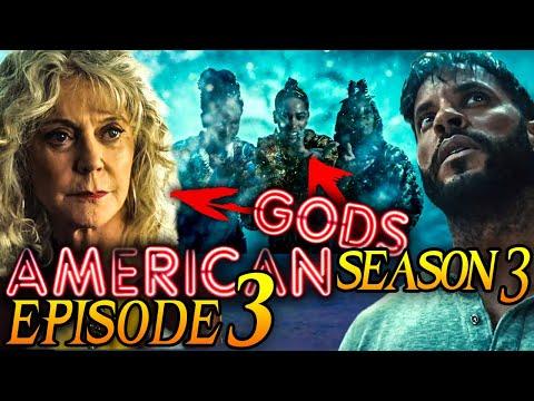 "American Gods Season 3 Episode 3 Breakdown + Easter Eggs Explained! (Re-Upload) ""Ashes and Demons"""