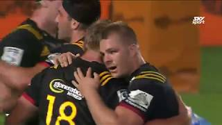 Chiefs v Blues Rd.8 2018 Super Rugby video highlights