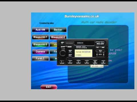 crucc 2.4 car radio universal code calculator 2.4 download