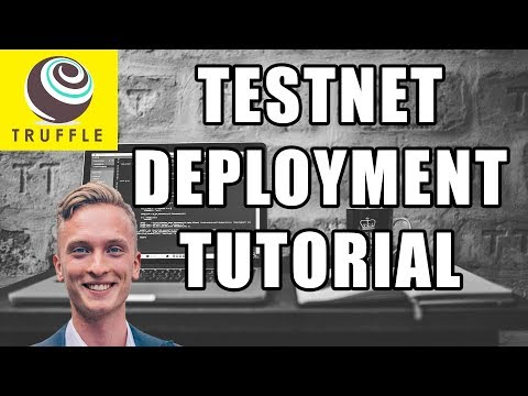 Deploying Solidity Contracts to Testnet Using Truffle - Beginners Tutorial