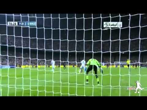 ملخص مباراة برشلونة 2-1 ريال مدريد 26/10/2013   عصام الشوالي