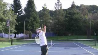 Tennis Highlights, Video - Tennis 2nd Serve Pronation - Pronate