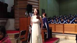 "Soprano Jung A Yang sings ""The Holy City""(거룩한성) by Stephen Adams & Frederick E. Weatherly."