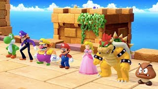 Super Mario Party - All Survival Minigames | MarioGamers