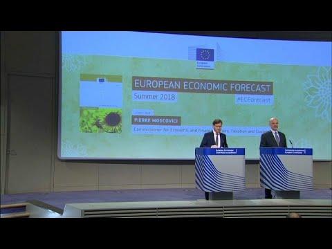 Οι θερινές προβλέψεις της Κομισιόν για το 2018 και το 2019