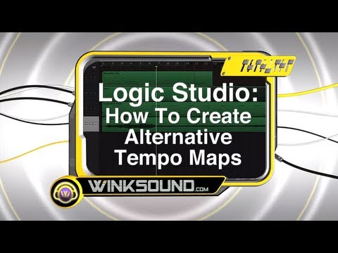 Logic Pro: How To Create Alternative Tempo Maps | WinkSound