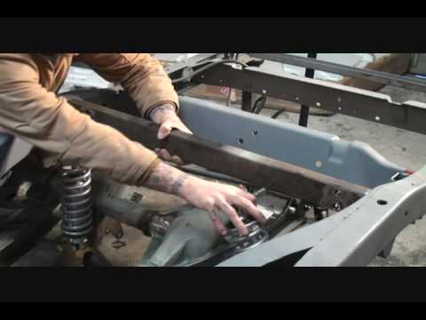 1961 GMC Rat Rod Truck-How To Install Rear Coilover Shocks, Part 5.