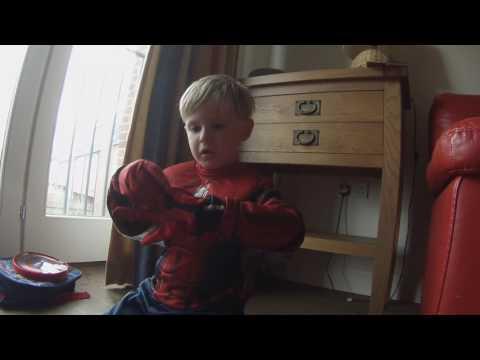 Disney Store Spider-Man Costume