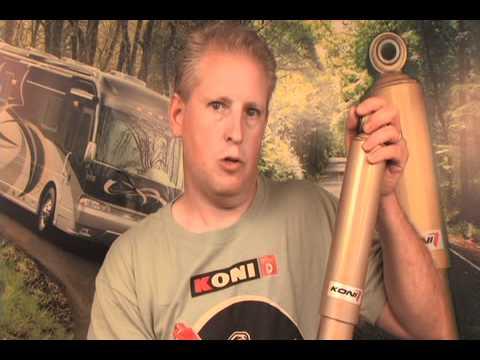 SuperSteer KONI FSD SHOCKS adjustable motorhome truck Hendersons Line Up dampening softer ride (видео)