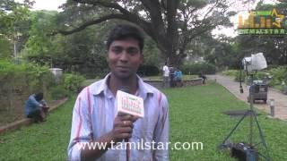 Baiju Jacob at Madurai Mavendhargal Movie On Location