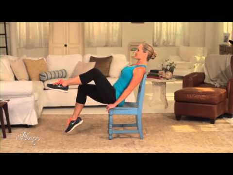 Easy Chair Exercises to Tone Your Abs and Belly