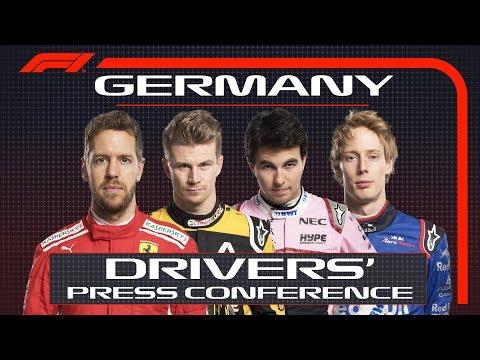 2018 German Grand Prix: Press Conference Highlights
