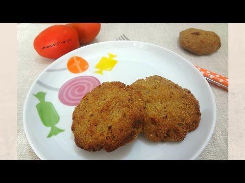 video ricetta: bimby - mini hamburger di melanzana