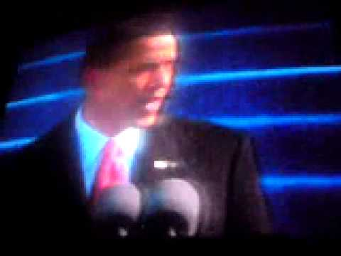 President Obama inauguration speech 2009 and speech afterwards